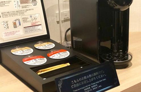 カプセル式コーヒーメーカー設置